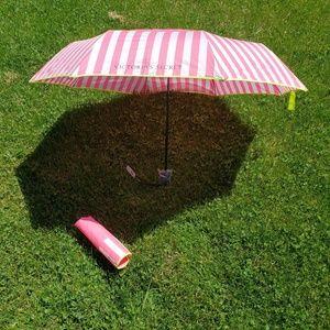 Victoria's Secret Accessories - Victoria's Secret Pink Umbrella